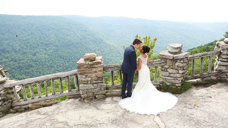 Nikki & Dan's Wedding - Photos at Coopers Rock